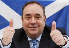 Alex Salmond - wanted for crimes against...erm...